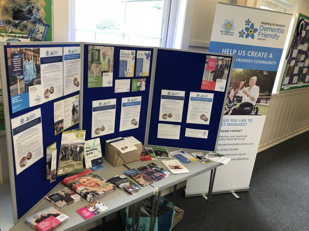 Dementia Awareness Table and Resources